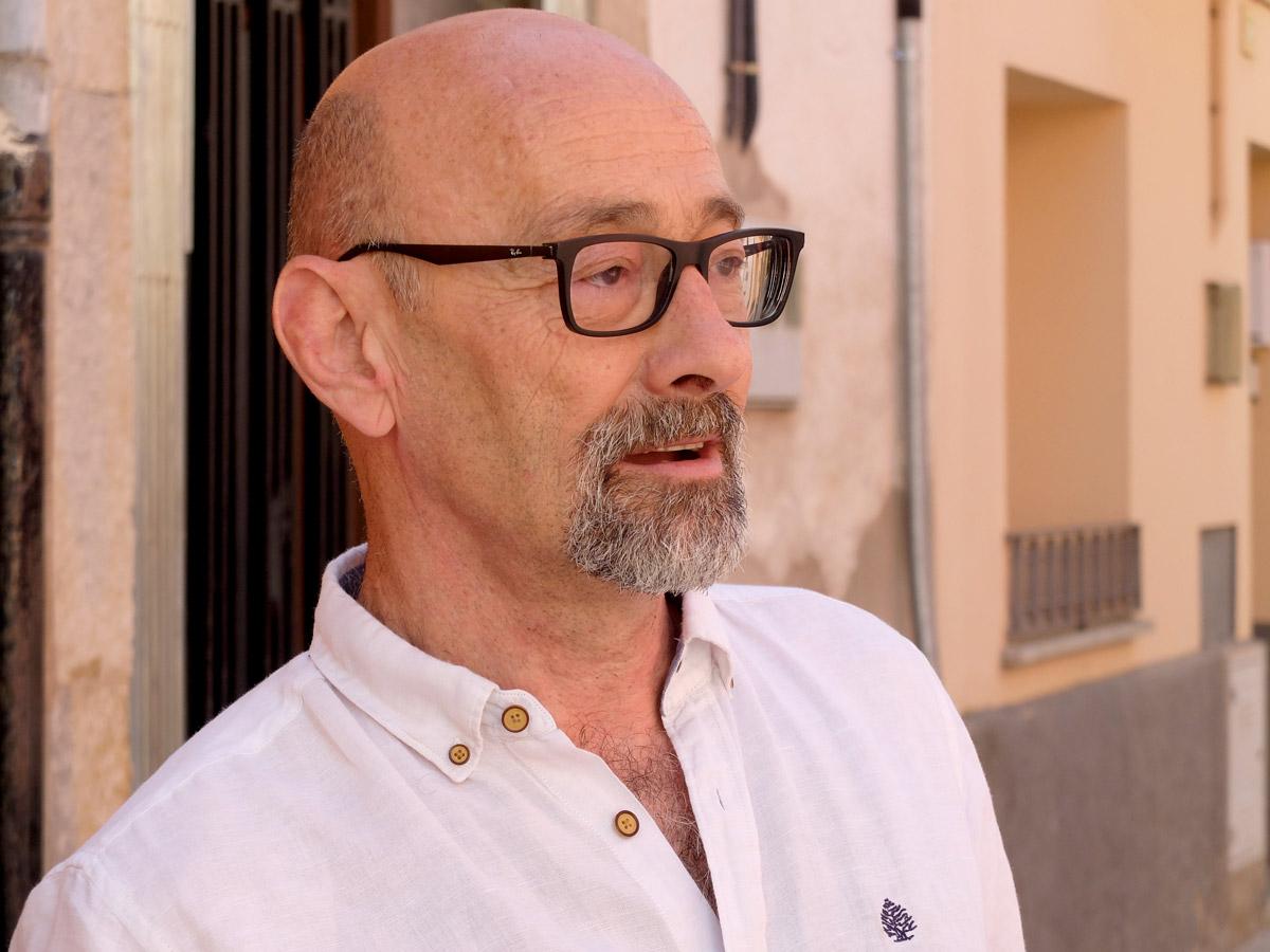 Salvador Sunyer, col·laborant amb la Fundació SER.GI