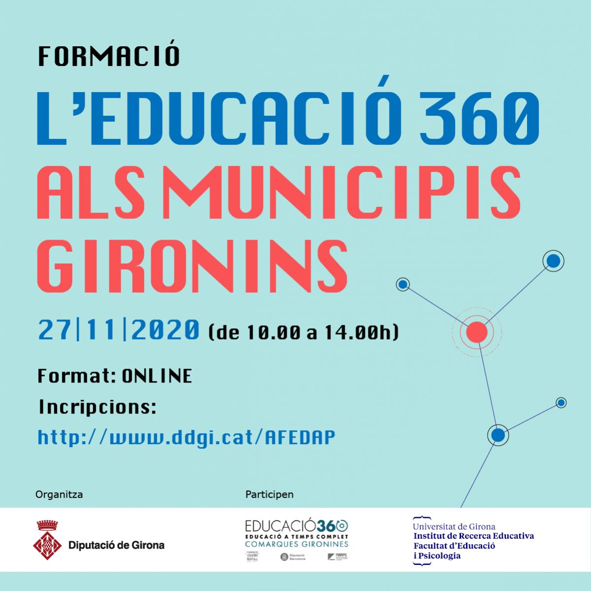 l'educació 360 als municipis gironins