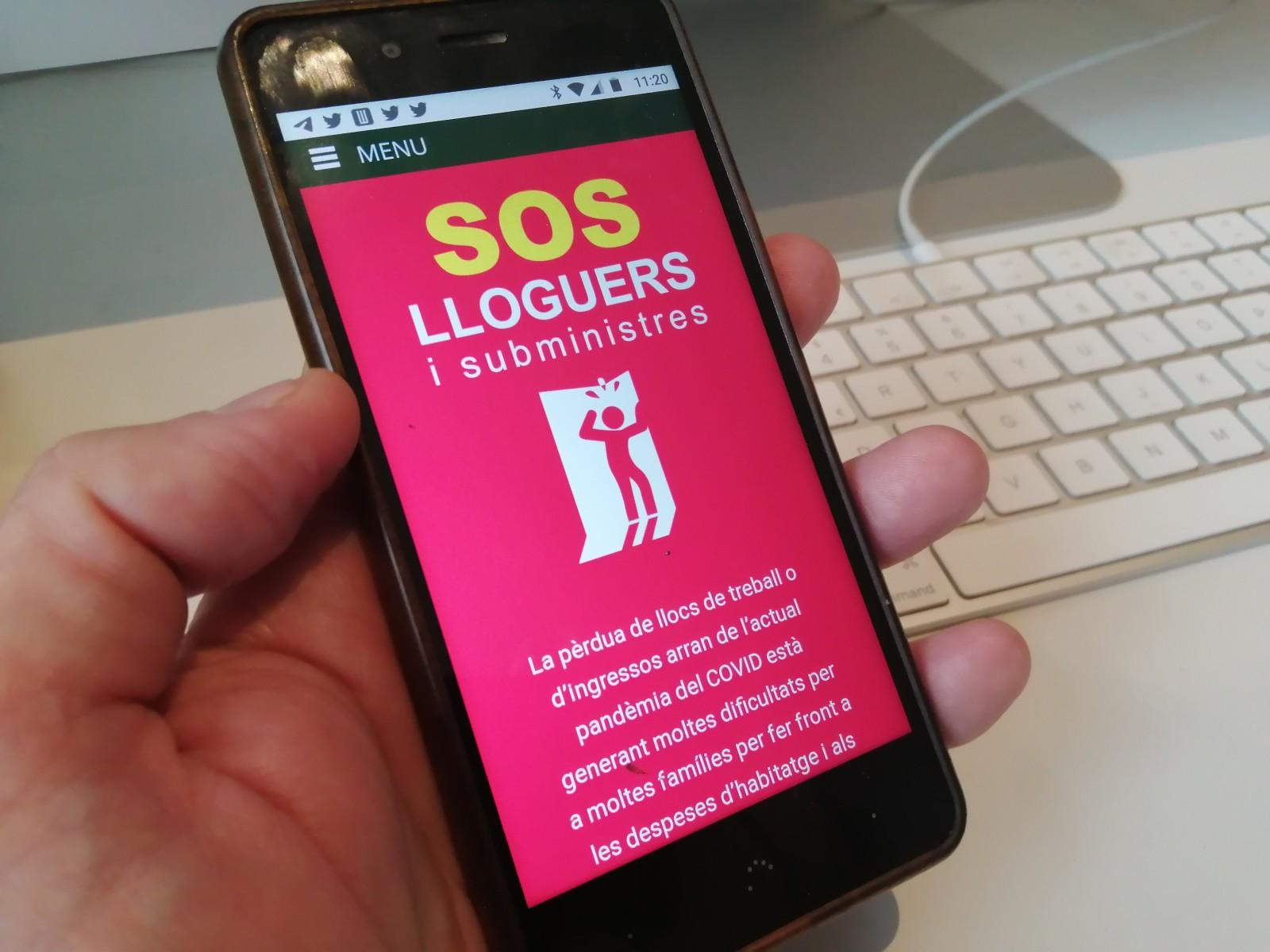 Campanya SOS Lloguers