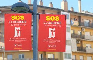 Imatge campanya SOS lloguers i subministres