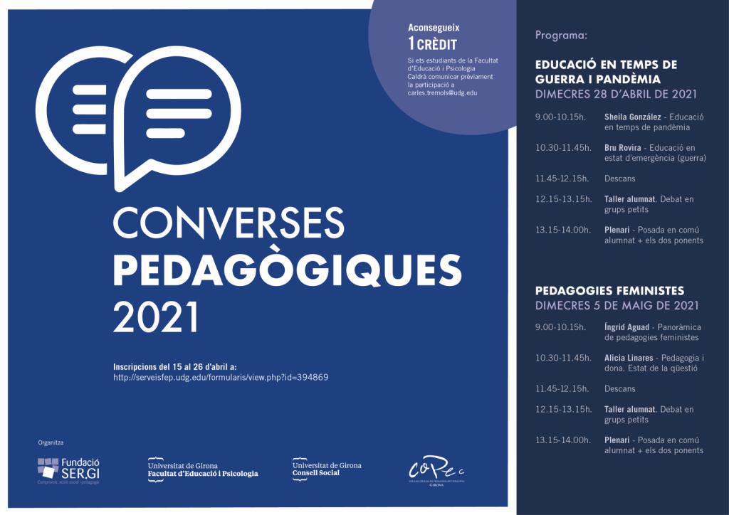 Converses pedagògiques 2021