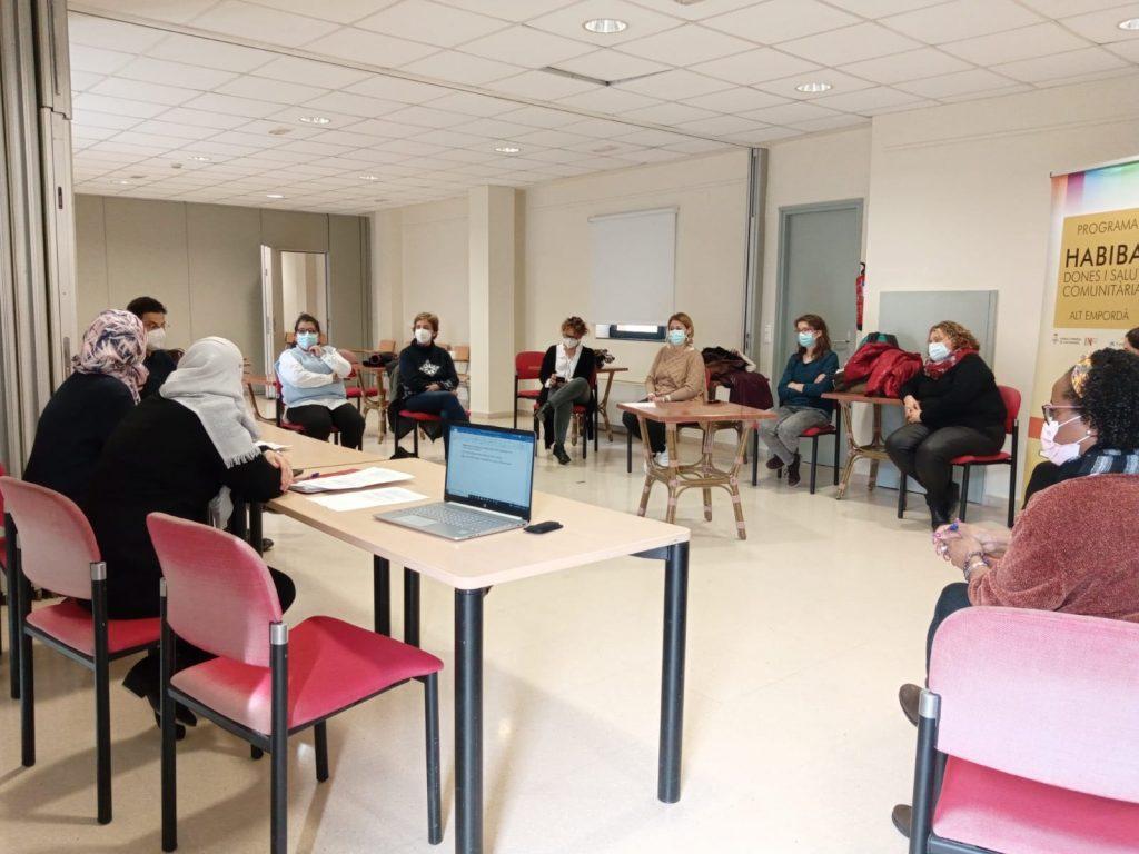 Trobada projecte de salut comunitària Habiba