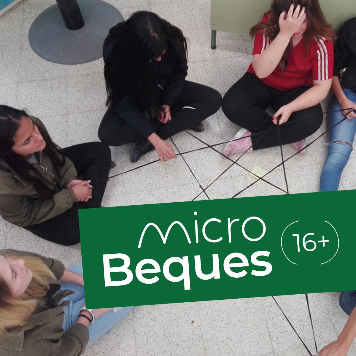 microBeques per a joves de més de 16 anys